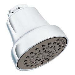 Chrome one-function showerhead