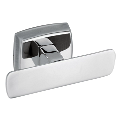 Stainless double robe hook